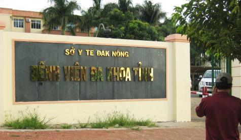 BV tỉnh Đắk Nông nhiều sai phạm về trang thiết bị y tế