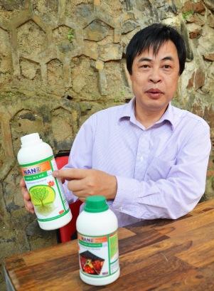 Ông Vũ Đại Dương khẳng định Cty Thuận Phong không được phép in chứng nhận quacert thế này