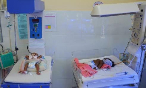 Khoa Nhi BV Đa khoa tỉnh thiếu rất nhiều máy cấp cứu và điều trị cho trẻ em