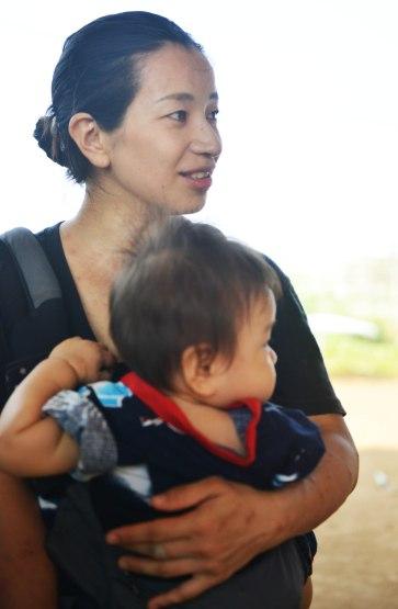 Mẹ con chị Takano Yukino