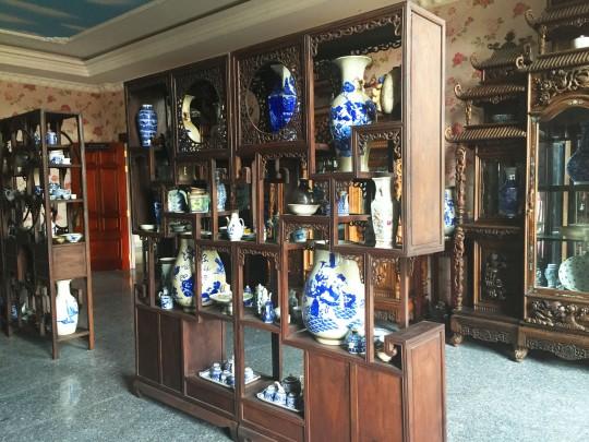 Phòng cổ vật gốm đời nhà Thanh