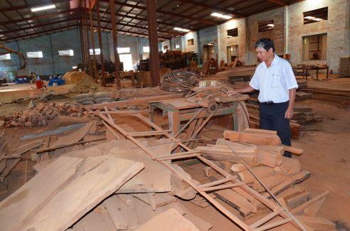 Xưởng mộc hoang tàn vì ông Điền bị giam oan