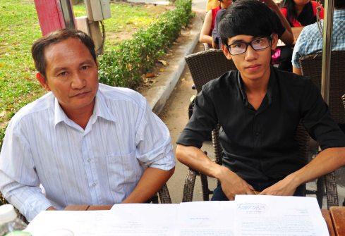 Bố con Đỗ Quang Thiện mong ngày Thiện được giải oan