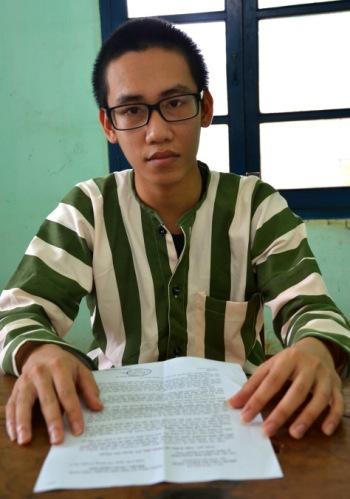 Nam sinh Đỗ Quang Thiện đã bị kết án 9 tháng tù giam từ bản giám định pháp y sai sự thật