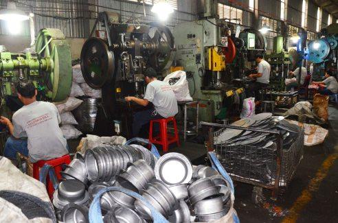 Một góc xưởng cơ khí Đăng Phong