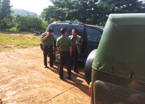 Thiếu tướng Phạm Dũng thứ trưởng Bộ Công an vào tận hiện trường chỉ đạo điều tra xử lý