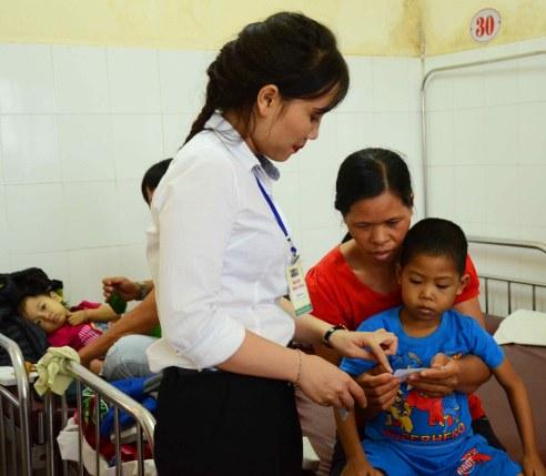 Hướng dẫn sử dụng phiếu Dĩa cơm trên tường cho mẹ con bệnh nhi nghèo