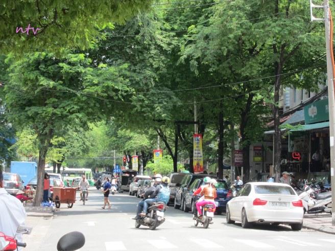 Hàng me Nguyễn Du, Sài Gòn