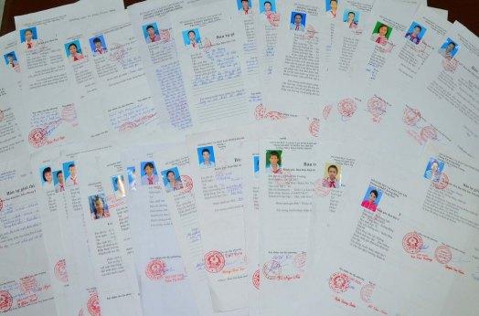 Hồ sơ tiến cử học sinh nhận học bổng Đọt Chuối Non ngày càng nhiều