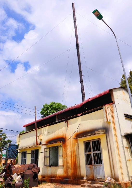Nơi BV ĐK Buôn Ma Thuột đặt lò đốt rác tạm đã nhiều lần bị khiếu nại vì gây ô nhiễm khu dân cư