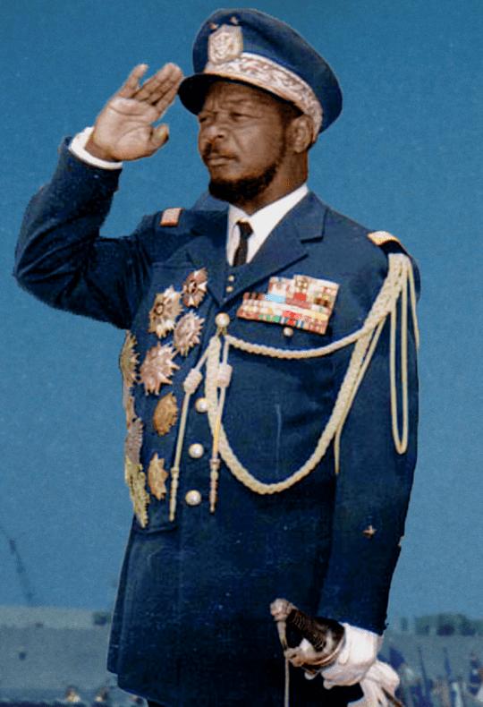 Bokassa visiting Romania in 1970 | WIKIMEDIA COMMONS